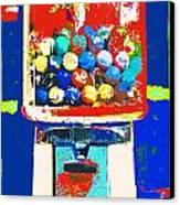 Candy Machine Pop Art Canvas Print by ArtyZen Kids