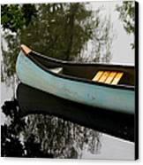 Canoe Canvas Print by Odd Jeppesen