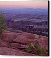 Canyonlands At Dusk Canvas Print by Andrew Soundarajan