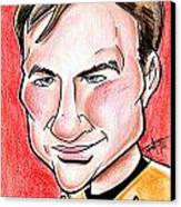 Captain James T. Kirk Canvas Print by Big Mike Roate