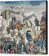 Capture Of Bastille, 1789 Canvas Print by Granger