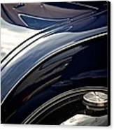 Car Abstract Canvas Print by Odd Jeppesen