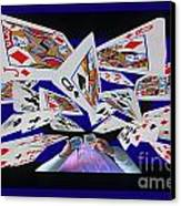 Card Tricks Canvas Print by Bob Christopher
