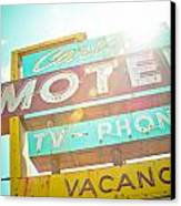 Carlyle Motel Canvas Print by David Waldo