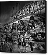 Carnival - Game-a-rama Canvas Print by Mike Savad