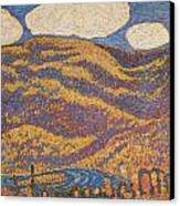 Carnival Of Autumn Canvas Print by Marsden Hartley
