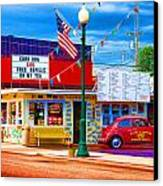 Carol's Corner Canvas Print by Mike OBrien