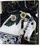 Carousel Horse - 9 Canvas Print by Paul Ward
