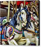 Carousel Horse 2 Canvas Print by Paul Ward