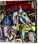 Carousel Horse 6 Canvas Print by Paul Ward