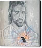 Cast Your Care On Him Canvas Print by Raymond Doward