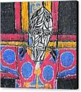 Catalan Jesus Canvas Print by Marwan George Khoury