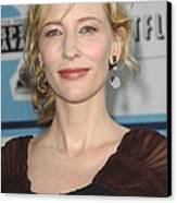 Cate Blanchett At Arrivals Canvas Print by Everett