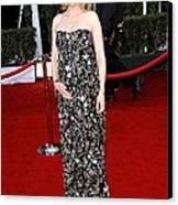 Cate Blanchett Wearing A Balenciaga Canvas Print by Everett