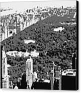 Central Park Bw3 Canvas Print by Scott Kelley
