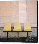 Chairs Canvas Print by Bernard Jaubert