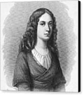 Charlotte Von Schiller Canvas Print by Granger