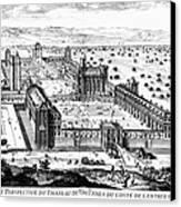 Chateau De Vincennes Canvas Print by Granger