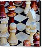 Checkmate Canvas Print by Russ Harris