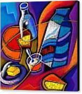 Cheese Canvas Print by Leon Zernitsky