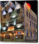 Cheli's Chili Bar Detroit Canvas Print by Nicholas  Grunas