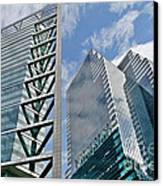 Chicago - City Of Big Shoulders Canvas Print by Christine Till