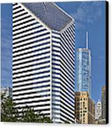 Chicago Crain Communications Building - Former Smurfit-stone Canvas Print by Christine Till