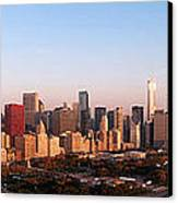 Chicago Panoramic  Canvas Print by Jeff Lewis