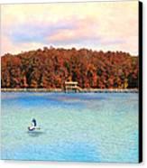 Chickasaw Bridge Canvas Print by Jai Johnson
