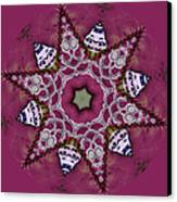 Christmas Star Canvas Print by Bonnie Bruno