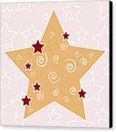 Christmas Star Canvas Print by Frank Tschakert