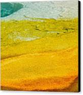 Chromatic Pool Canvas Print by Andy-Kim Moeller