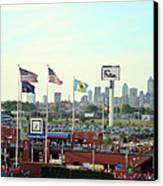 Citizens Bank Park 3 Canvas Print by See Me Beautiful Photography