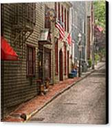 City - Rhode Island - Newport - Journey  Canvas Print by Mike Savad