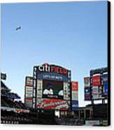 City Field At Queens Canvas Print by Suhas Tavkar