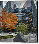 City Of Gold Canvas Print by Donald Davis