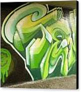 City Sponsored And Approved Graffiti Canvas Print by Bill Hatcher