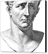 Claudius I (10 B.c.-54 A.d.) Canvas Print by Granger
