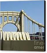 Clemente Bridge Canvas Print by Chad Thompson