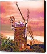 Cley Windmill 2 Canvas Print by Chris Thaxter