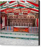 Coconut Shy Canvas Print by Adrian Evans