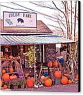 Colby Farm Canvas Print by Kristine Patti
