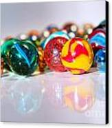 Colorful Marbles Canvas Print by Carlos Caetano