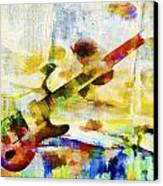 Colorful Music Canvas Print by David Ridley