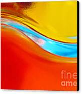 Colorful Wave Canvas Print by Carlos Caetano