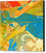 Colors Canvas Print by Alexandra Sheldon