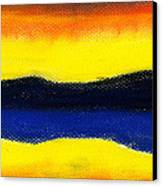 Colours Of Sky Canvas Print by Hakon Soreide