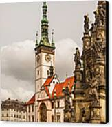 Column Of The Trinity And Town Hall Canvas Print by Maremagnum