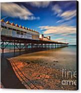 Colwyn Pier Canvas Print by Adrian Evans