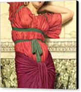 Contemplation Canvas Print by John William Godward